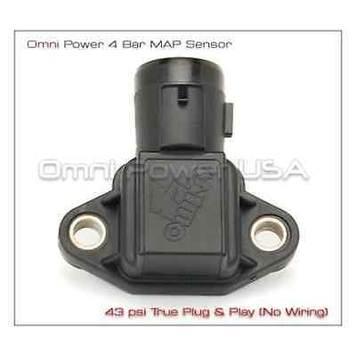 OMNI POWER HONDA CIVIC INTEGRA ACCORD PRELUDE CRX 3 BAR MAP SENSOR