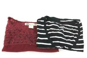 879f6c55123fc Lot Of 2 Women's Shirts By Flying Tomato And Old Navy Size Small ...