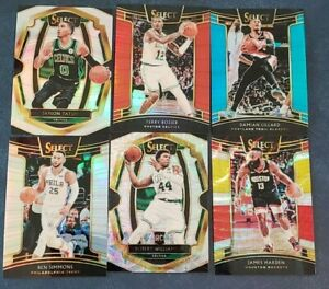 2018-19-Select-Prizm-Silver-Scope-Tri-Color-Blue-Red-Rookies-Premier-You-Pick