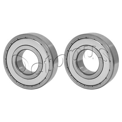 2 Pcs 15 Metal Shields 52 6205 ZZ High Quality Ball Bearings 25