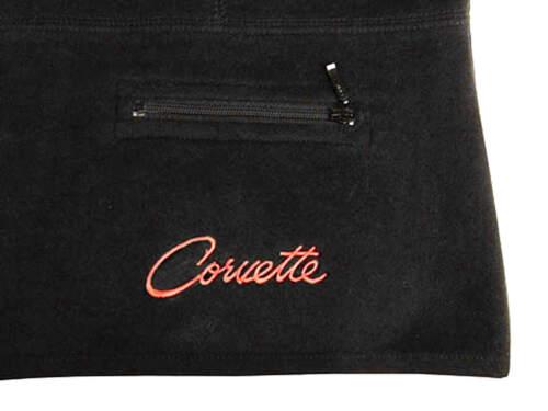 Script Luxe Noir Gilet Avec Touch Corvette Femme xqfXEWv