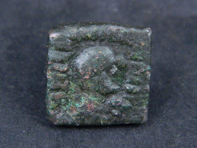 Ingenious Ancient Bronze Coin Bactrian 100 Bc No Reserve #gl1582 Comfortable Feel Coins & Paper Money