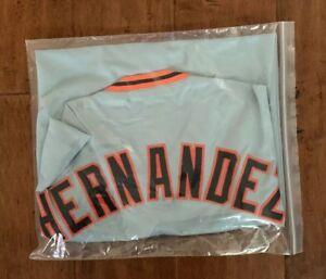 Livan-Hernandez-Autographed-Signed-Jersey-San-Francisco-JSA