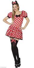 Déguisement Femme Souris Minnie M/L 40/42 Costume Adulte Dessin Animé Disney