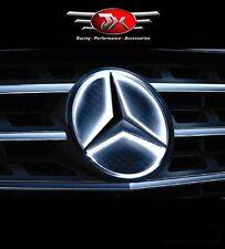 Mercedes Benz LED EMBLEM Front Grille Logo Star Badge  WHITE BLUE RED