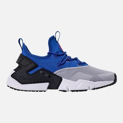 best sale best shoes good texture NIKE AIR HUARACHE RUN DRIFT AH7334 402 GAME ROYAL BLUE/WHITE/WOLF  GREY/BLACK | eBay