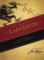 Jim Henson's Labyrinth Hardcover Novel Brian Froud Hensons David Bowie Mint