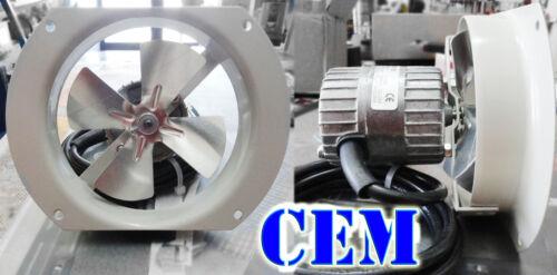 2500 giri al min Ventilatore aspirante per vetrine refrigerate 220 v Monofase