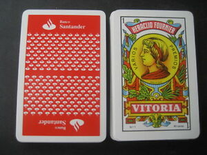Deck-Espanola-Fournier-with-Advertising-Bank-Santander-Playing-Cards
