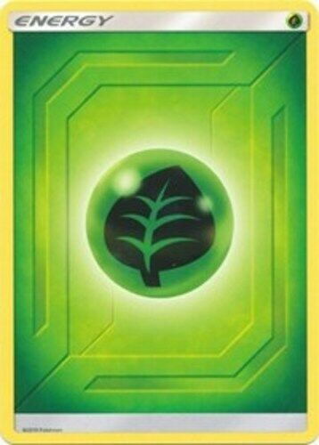 Grass Energy Reverse Holo 2019 Unnumbered NM-Mint x1 SM Team Up Common
