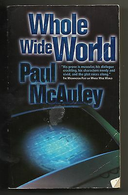 2003 Whole Wide World Paperback Book Thriller