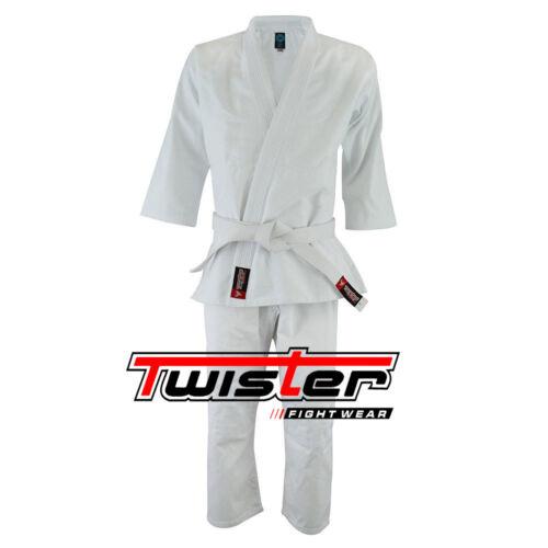 Gi 450gram without belt uniforms Judo Twister Student Aikido