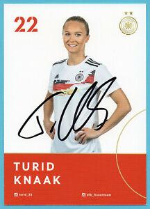 AK-Turid-Knaak-DFB-Frauen-Edition-WM-2019-Original-Signiert