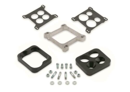 Mr Gasket 6009 Aluminum Carburetor Spacer and or Carb Adapter Kit