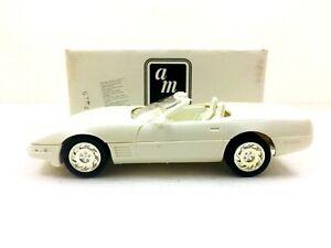 AMT ERTL 1991 CHEVROLET CORVETTE CONVERTIBLE dealer promo car #6044EP box #89