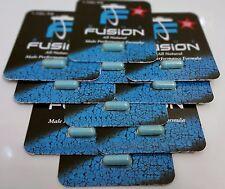 10 X Bluefusion Male Enhancement Testosterone Booster Sexual Enhancer - 10 Pills