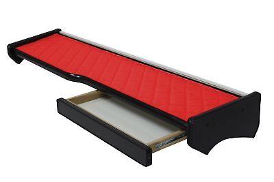 LKW MAN TGX Passform Ablagetisch Ablage Tisch mit Schublade Kunstleder in Rot | eBay
