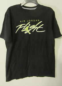 1619b9ed4656 Image is loading Air-Jordan-Flight-T-Shirt-Michael-Jordan-Jumpman-