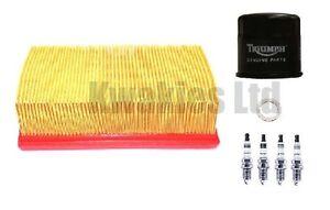 Triumph-Daytona-600-2003-2004-Service-Kit-Genuine-Filters-Iridium-Plugs