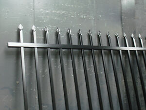 Security-Fencing-Heavy-Duty-2-1m-high-x-2-4m-long-Satin-Black