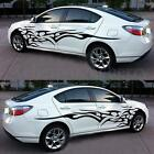 2PCS Car Decal Vinyl Graphics Two Side Stickers Body Decals Generic Black