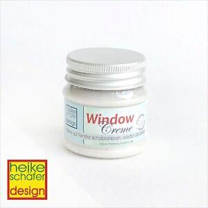 Window-Creme-Fenster-Creme-abloesbar-in-Pearl-Weiss-50g-Neu-Heike-Schaefer