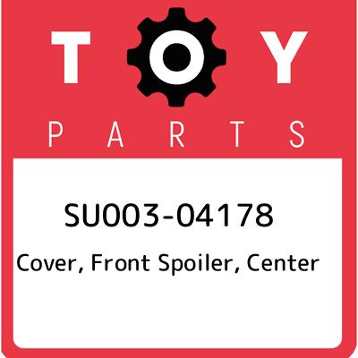 Genuine OEM Toyota 76851-47010 Front Spoiler Cover 2006-2009 Prius
