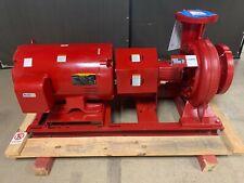 Bell Amp Gossett Centrifical 75hp 175psi Pump E 1510 Ssf 11875 6g Baldor 75hp Mtr