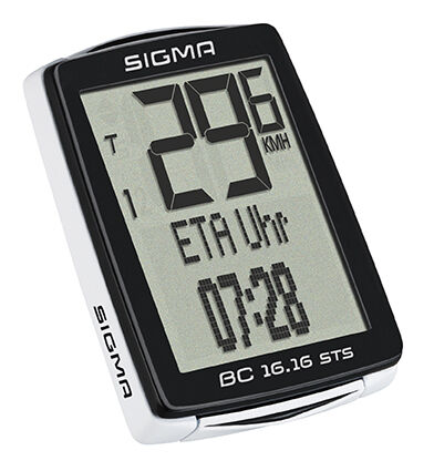 Sigma BC 16.16 STS CAD kabelloser Fahrradcomputer mit Trittfrequenz - - - 01618 03c30e