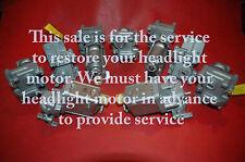 1963 67 YOUR CORVETTE HEADLIGHT MOTOR RESTORATION LH OR RH EXCHANGE AVAILABLE