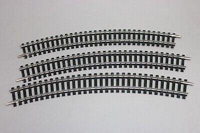 K21 10 rails courbes longs lima 3030 36° pour train electrique HO