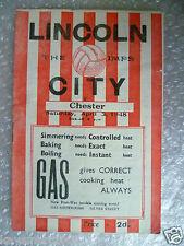 1948 LINCOLN CITY v CHESTER, 3 April 1948