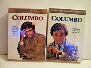 DVDS-COLUMBO-COPMPLETE-SEASON-1-AND-2-NEVER-OPENED-NEW-FREE-SHIP-amp-GIFT
