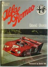 VIVA! ALFA ROMEO DAVID OWEN ISBN:0854292071 CAR BOOK