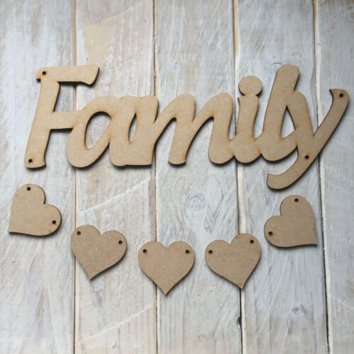 C134 Love Houses Home Sweet Home New Tags Gifts  100mm MDF Craft Shape Blank