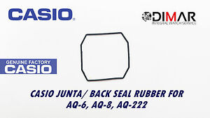 Aq-222 Casio Gasket/ Back Seal Rubber Aq-8 For Models Aq-6