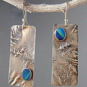 Vintage-925-Silver-Opal-Women-Jewelry-Dangle-Party-Anniversary-Drop-Earrings