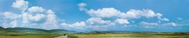 11,88€/m²) Faller 180514 H0, TT, N,  Hintergrund Schwarzwald-Baar, 3880 x 650 mm