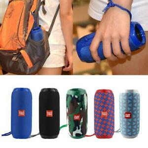 TG117-Wireless-Bluetooth-4-2-Speaker-Outdoor-Stereo-USB-FM-Audio-BAG-Radio-X6Z5