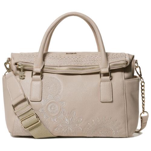 Desigual Damen Handtasche Schultertasche Tasche Bols Dark Amber Loverty 19SAXPEU