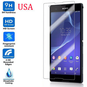 9H-ULTRA-CLEAR-TEMPER-GLASS-SCREEN-PROTECTOR-FOR-SONY-Xperia-T2-Ultra