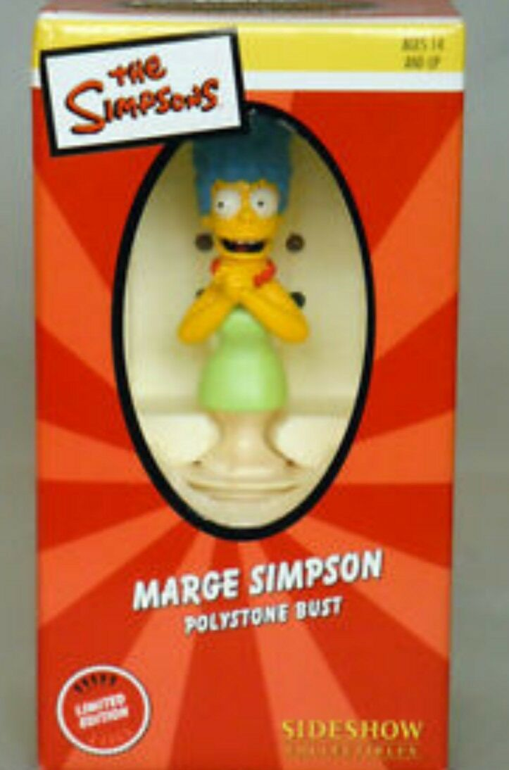 MARGE SIMPSON POLYSTONE BUST Sideshow Collectibles Collectibles Collectibles 4e0d0f