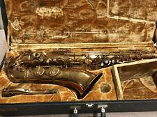 SML Strasser Marigaux Tenor Sax Made in France serial #14597