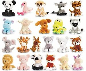 KEEL-14cm-PIPPINS-SOFT-TOYS-NEW-WITH-TAG-FULL-RANGE-DOGS-DALMATIAN-CATS-FARM