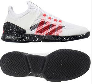 perfil doble gas  Adidas Adizero Ubersonic 2.0 Men's Tennis Shoes Authentic White FW0067 |  eBay
