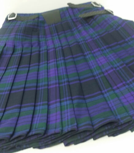 Ex Hire 8 Yd Wool SPIRIT OF SCOTLAND 8 Yd Kilt a1 Cond many sizes afficher le titre d'origine