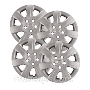 Set-of-4-16-034-Silver-Hubcaps-fit-Toyota-Camry-10-11-Heavy-Duty-Wheel-Covers
