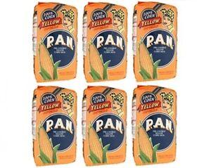 6x-Harina-PAN-Yellow-CornMeal-Flour-1-Kg-Venezuela