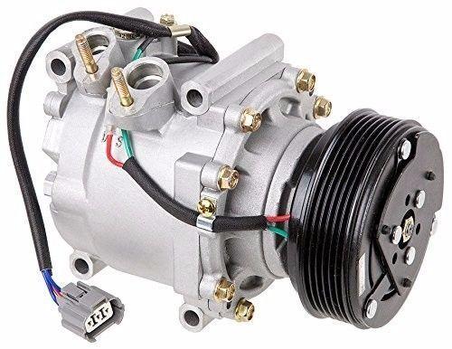 A//C Compressor Complete Kit Fits Honda Civic 2002-2005 L4 1.7L OEM TRSA09 77613