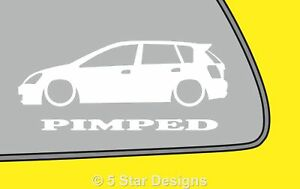 2x-PIMPED-Civic-EP-5-Door-sticker-decal-For-Honda-Civic-type-R-Type-S-LR339